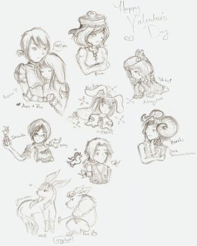 Doodles by fieryblossoms