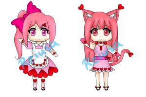 Valentines Day Adoptables .:CLOSED:. by Reiusa