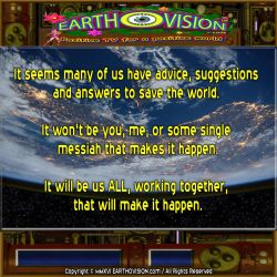 No Single Messiah by EARTHOVISION