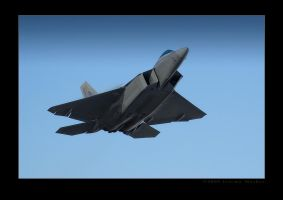 F22A Departure by jdmimages