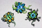 Custom Tentacle Creepy Kanzashi Hair Ornament by LillyInverse