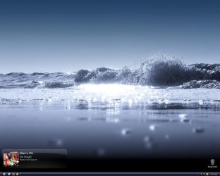 Cold Wave Desktop by XSV
