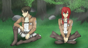 [Request] Levi and Ava by Ak3my-chin