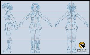Ginger Model Sheet by HecM