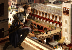 rooftops by adelruna