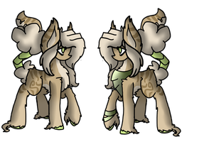 Cotton mouth adopt, sold on G+ by DragonMiner101