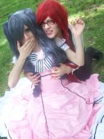Lady ciel x Grell by ButtersAnKau
