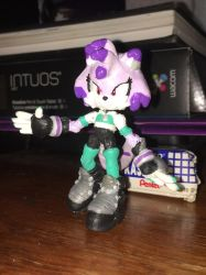 Electra the Cat Custom Figure by Aimorragia