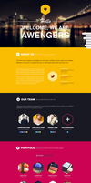 Hexagon WP - Creative showcase portfolio by NumarisLP