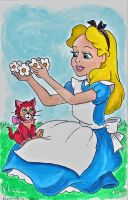 Alice in Wonderland Sketch Lottery Submission by emmadreamstar