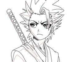 Hitsugaya by dazwolf