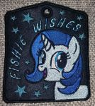 Embroidered Badge by fishiewishes