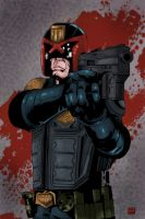 Judge Dredd by mike-mcgee