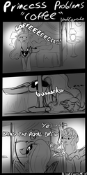 Princess Problems - Coffee - by BlindCoyote