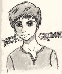 Nick from Grimm by greenlilly444