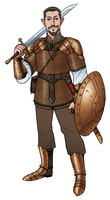 Character Commission : Adran by thdark