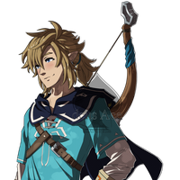 Fire Emblem Style: Link from Breath of the Wild by deusAce
