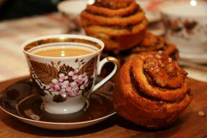 coffee and cinnamon by GeorgeTheBeautiful