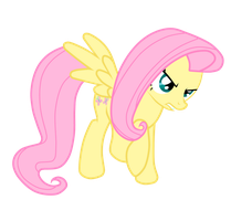 Angry Fluttershy by JunkiesNewb