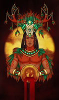 Mayans ~ Acan - The Crowning by Eyoha