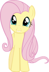 Fluttershy is Happy by MoongazePonies