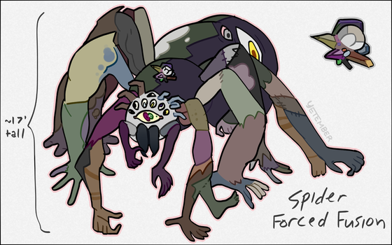 spider forced fusion [contest entry] by Yetember