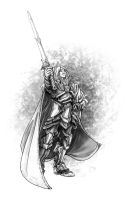 Gabriel the Paladin by butterfrog