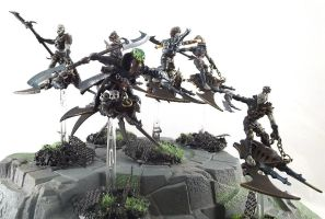 Dark Eldar Hellions by DesireeMorte
