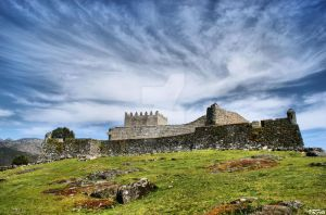 Lindoso castle by vmribeiro