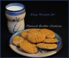 Peanut Butter Cookies...recipe by LadyAliceofOz