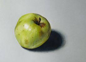 Apple drawing by DMartIT
