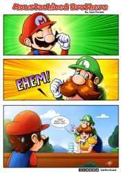 Moustachioed Brothers by LinkerLuis