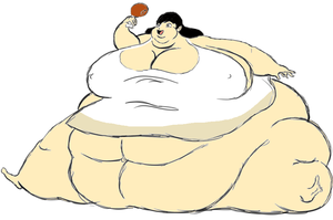 The blob girl and even more food by randomname19