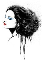 Laetitia Casta by Vranckx