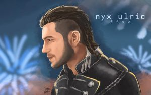 Nyx Ulric by GalaxyInvader