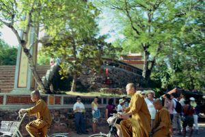 Buddhists on Bikes by jendiggity