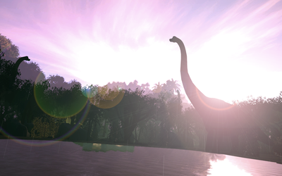 My Friends, the Brachiosaurs by Nictrain123