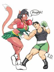 Deborah vs Little Mac by Shamlessdreams
