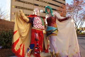 Lookit our capes by Lady-Tigress