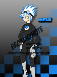 Ampere [Costumed] by optimisticxpessimist