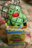 Green Glitter Domo (on hold!) by PiliBilli