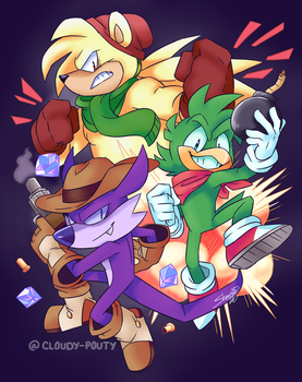 Team Hooligans by cloudypouty