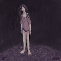 sometimes i feel like rain by waywardJellyfish
