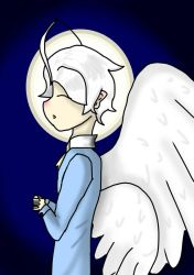 The Angel Who Prays by Invader-Zix
