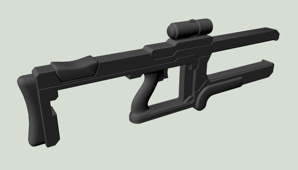 Pulse Rifle by TERMtm