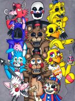 Five Nights at Freddy's 2 by arclor087