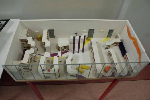 Model of library II by aleksandrawolny