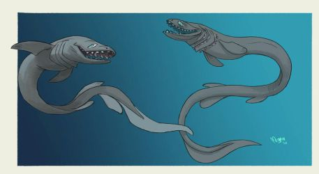 Frilled Shark by sketchshark