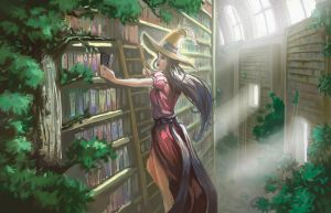 The lost library by Nesskain