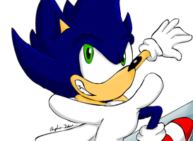 Grinding Sonic by ghostanjo